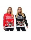 Unisex 3D Rudolph Christmas jumpers Plus Sizes