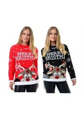 Unisex 3D Rudolph Christmas jumpers