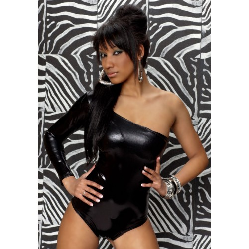 Nov 27,  · This is a Natalie petite black over one shoulder leotard. It is extremely gorgeous and elegant and has only be worn a few times. It is made of nylon and the straps form a .